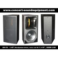 "Wholesale Nightclub Sound Equipment 15"" Full Range Speaker from china suppliers"