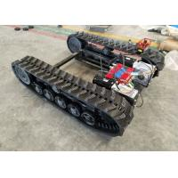 Buy cheap Rubber Track Undercarriage chasiss 1-10T for Construction equipment spare parts from wholesalers