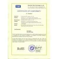ShenZhen BST Industry Co., Limited Certifications