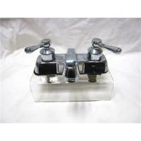 Wholesale Stainless Steel 2 Handle Kitchen Sink Faucet With Pull Out Sprayer / One Faucet Hole from china suppliers