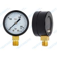 Wholesale 2 Inch black steel general pressure gauge from china suppliers