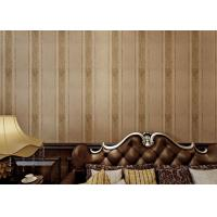 Wholesale Yarn Modern Removable Wallpaper 0.53m Brown Living Room Wallpaper from china suppliers