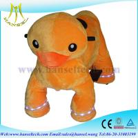 Wholesale Hansel motorized plush riding animals shopping mall animal ride… from china suppliers