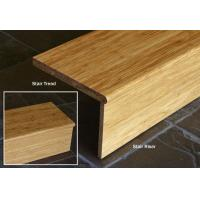 Buy cheap Natural Strand Woven Bamboo Stair Tread And Riser from wholesalers