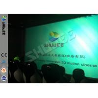 Wholesale Genuine Leather Convenient 6D Movie Theater With 3DOF Motion Chairs from china suppliers