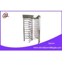 Wholesale 316 Stainless Steel Fingerprint Turnstile Full Height Fully Automatic Mechanism from china suppliers