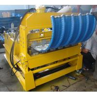 Wholesale 0 - 12m/min High Speed PLC Control Roof Crimping Curved Machine for Roof Curving from china suppliers