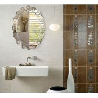 Wholesale Large Custom Oval Bathroom Wall Mirrors Frameless 80% Float Glass from china suppliers