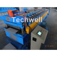 Wholesale 0.3-0.8Mm Thick Color Steel Roll Forming Machine / Pu Panels Cold Rolled Forming Machines from china suppliers