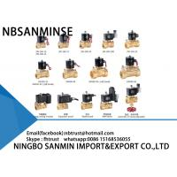 Wholesale Water / Steam Brass Solenoid Valve from china suppliers
