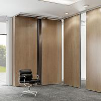 Wholesale Aluminum Sliding Wooden Partition Walls For Living Room / Hotel from china suppliers