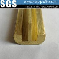 Quality China Manufactured Waterproof Metal Profiles For Brass Door And Windows for sale