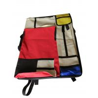 Wholesale 4K hand-held double-sided drawer bag stitching red and yellow blue multi-functional painting bag from china suppliers