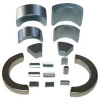 Wholesale NdFeB Segment / Arc Magnet with N35, N38 grade NiCuNi,Epoxy coated for Servo motors from china suppliers