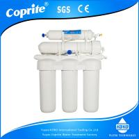 Wholesale Manual Flush Undecounter UF Water System 5 Stage Ultra Filter System with Double O Ring from china suppliers