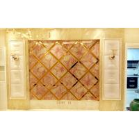 Wholesale Decorative Laminated Glass Panels / KTV Commercial Glass Panels Sound Insulation from china suppliers
