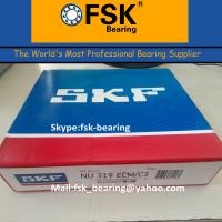 Wholesale Double Row Cylindrical Roller Bearing SKF NU319 ECM Brass Cage from china suppliers