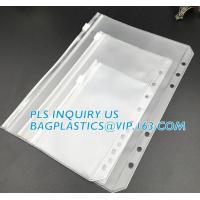 Wholesale Biodegradable Page Banknotes Postage Stamp Pockets Transparent PVC Money Album Loose-leaf Sheet Holders page bags holder from china suppliers
