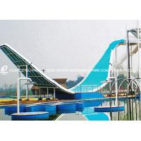 Wholesale Swing Wave Slide Fiberglass Water Slides Amusement Park Equipment 11m Height for Aqua Park from china suppliers