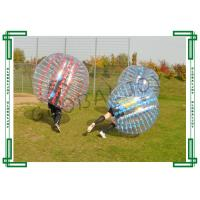 Wholesale Transparent loopy ball soccer inflatable bubble suit with TPU from china suppliers