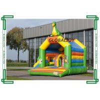 Wholesale Oxford Cloth / PVC Tarpaulin Inflatable Bouncy Castle Dinosaur Jump House from china suppliers