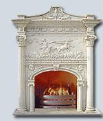 Buy cheap mantel,fireplace,stone fireplace,marble fireplace,stone mantel,marble mantel, from wholesalers