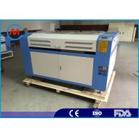 Wholesale Automatic Wood Laser Engraving Machine , White Tabletop Laser Engraving Machine from china suppliers