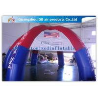 Wholesale Colorful Outdoor Dome inflatable tailgate tent personalized canopy tent with 6 Legs from china suppliers