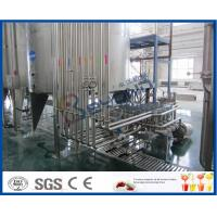 Wholesale PLC Control High Standard Fruit Juice Processing Line / Fruit Juice Manufacturing Plant from china suppliers