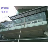 Wholesale Indoor glass balustrade frameless design from china suppliers