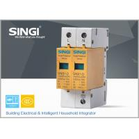 Wholesale 10 - 20KA Double phase surge protection device for installation in distribution boards from china suppliers