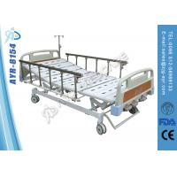 Wholesale Center Locking Hospital Beds For Home Use Aluminum Side Rails Three Cranks from china suppliers