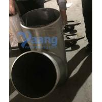 Buy cheap ASTM A815 UNS32750 GR2507 45Deg Lateral Tee from wholesalers
