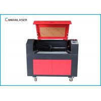 Wholesale 9060 MDF Plywood Co2 Laser Cutter Machine With 80w Ruida Control System Stepper Motor from china suppliers