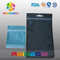 Wholesale Stand Up Zipper Bag For Tea , Plastic Pouches Packaging Bottom Gusset Bags And Handle from china suppliers