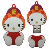Wholesale cool speical cute fashion silicon power USB flash drives 128MB, 256MB, 512MB from china suppliers