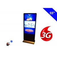 Wholesale Floor Standing Wireless Network 3G Digital Signage Indoor Display LCD 55 Inch from china suppliers