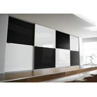 Quality Black and White Color Safety Tempered  Glass Panel for Back Walls for sale