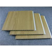 Quality Decorative Laminated UPVC Wall Panels For Living Room / Study / Bedroom for sale