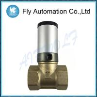 "Wholesale Q22HD-25 DN25 1"" Two Way Brass Tube Valve Pneuamtic Actuator Control Oil Liquid Valve from china suppliers"