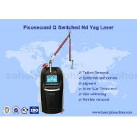 Buy cheap 2000W high power picosure laser/pico laser new laser for tattoo removal machine from wholesalers