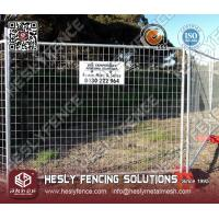 Quality Temporary Mesh Fence (HeslyFence) for sale