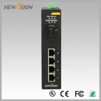 Wholesale Fully Managed Industrial Gigabit Ethernet Switch 1 Gigabit FX SFP and 4 Gigabit Electric Port from china suppliers