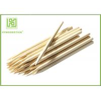 Wholesale BBQ Pointed Thin Small Wooden Sticks , Wooden Kebab Sticks For Party Picnic from china suppliers