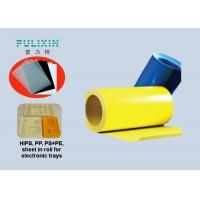 China Rigid Printable PP Plastic Sheet Conductive Material / Polythene Sheeting Rolls on sale