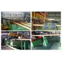 Wholesale Hydraulic Copper Continuous Casting Machine Water Cooling For 300 mm Brass Pipes from china suppliers
