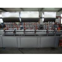 Wholesale Automatic Piston Pump Tin Can Filling Machine / Tomato Paste Filling Machine from china suppliers