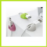 Wholesale exquisite wire phone cable drop clips, silicone wire organizer silicone holder from china suppliers