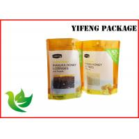 Wholesale Heat Sealing Stand Up Pouch Plastic Packaging Bags for Food with Zipper and Window from china suppliers