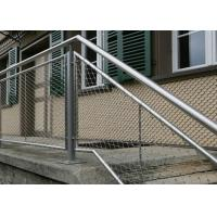 Buy cheap Flexible Stainless Steel Architecture Cable Mesh for Balustrade Infill,Wire from wholesalers